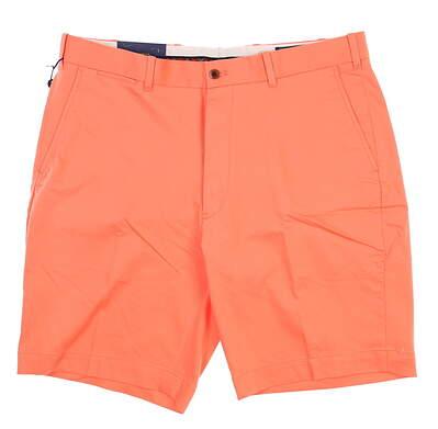 New Mens Ralph Lauren Classic Fit Golf Shorts 36 Orange MSRP $75