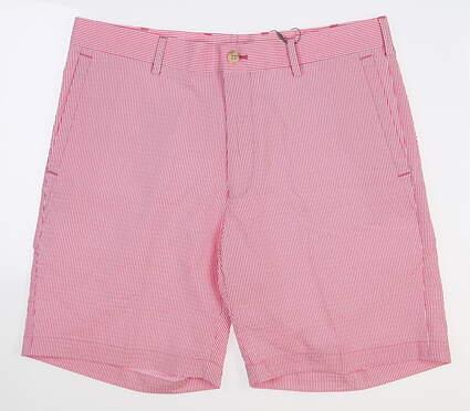 New Mens Peter Millar Golf Shorts 35 Pink MS18EB91