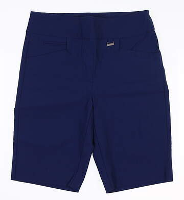 New Womens EP NY Golf Shorts Small S Blue NS8153 MSRP $89