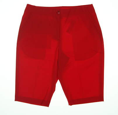 New Womens EP Pro Golf Shorts 6 Red MSRP $85