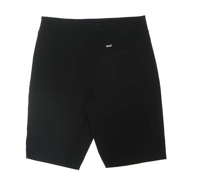 New Womens EP NY Golf Shorts Large L Black MSRP $89
