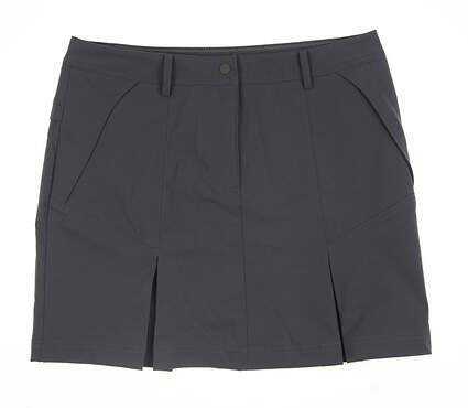 New Womens Cutter & Buck Annika Skort 14 Charcoal Grey MSRP $84.99