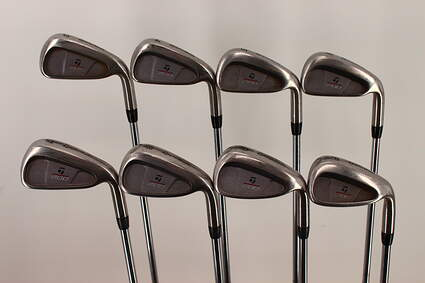 TaylorMade 200 Steel Iron Set 3-PW TM R-80 Steel Steel Regular Right Handed 38 in