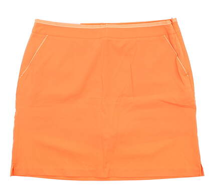 New Womens Greg Norman Golf Skort 10 Orange G2S5H023 MSRP $79