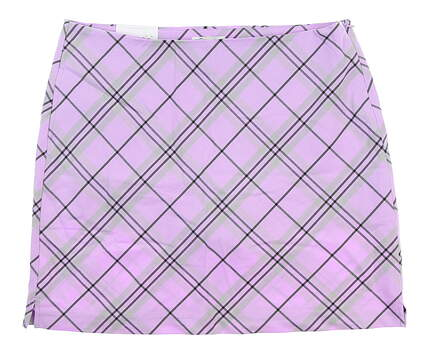 New Womens Greg Norman Golf Skort 12 Purple G2F5H281 MSRP $79