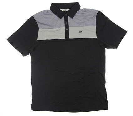 New Mens Travis Mathew Golf Polo Medium M Black 1MH034 MSRP $78