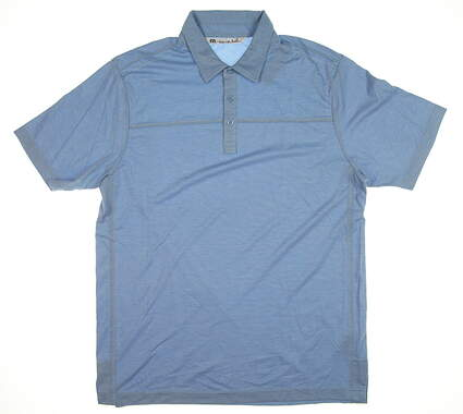 New Mens Travis Mathew Golf Polo Large L Blue 1MH022 MSRP $78