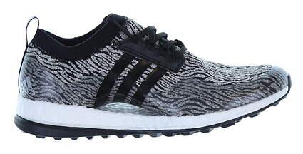 New Womens Golf Shoe Adidas Pureboost XG Medium 5.5 Gray/Black/White MSRP $130
