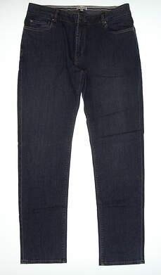 New Mens Peter Millar Jean Pants 38 Lind Blue MF17B94 MSRP $144.99