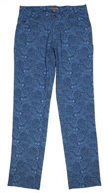 New Mens Peter Millar Pants 38 Blue Multi MF17EB61 MSRP $144.99