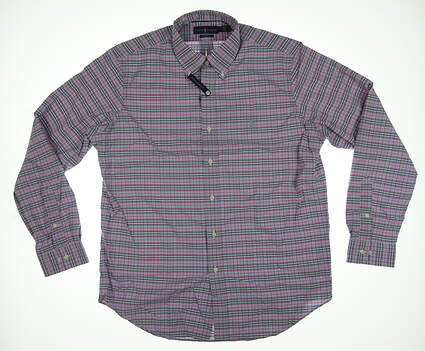 New Mens Ralph Lauren Button Down Large L Multi MSRP $125