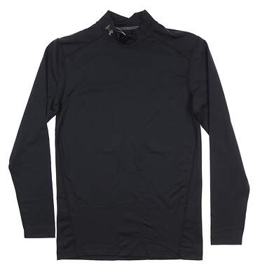 New Mens Under Armour Base Layer Small S Black UM9431 MSRP $49.99