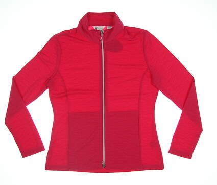 New Womens Greg Norman Golf Jacket Small S Pink G2S7J363 MSRP $60