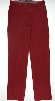 New Mens Peter Millar Pants 33 Red/Dark Pink MC00B84 MSRP $99.99