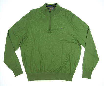 New Mens Fennec ThermoCool 1/4 Zip Golf Sweater X-Large XL Tendril MSRP $125 162F201