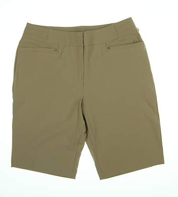 New Womens Tail 21in Outseam Ultima Shorts 8 Toffee GX4365-126X MSRP $88.99