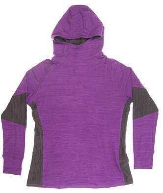 New Womens Footjoy Golf Pullover X-Large XL Purple MSRP $135