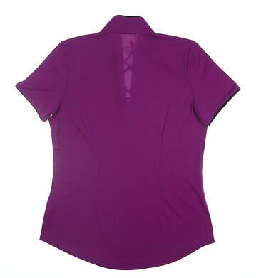 New Womens Jo Fit Reflex Golf Polo X-Small XS Purple MSRP $89 GT231-DZY