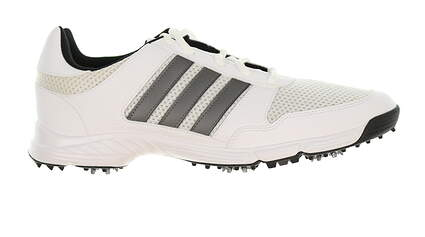 New Mens Golf Shoe Adidas Tech Response Medium 9 White/Silver MSRP $60