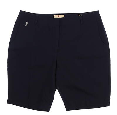 New Womens Sport Haley Shorts 12 Navy Blue WD021030 MSRP $85.99