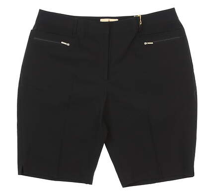 New Womens Sport Haley Shorts 12 Black H37110WM MSRP $88.99