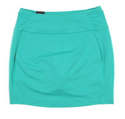 New Womens Under Armour Golf Skort Large L Green UW1199 MSRP $70