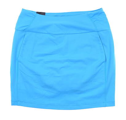 New Womens Under Armour Golf Skort Medium M Blue UW1199 MSRP $70