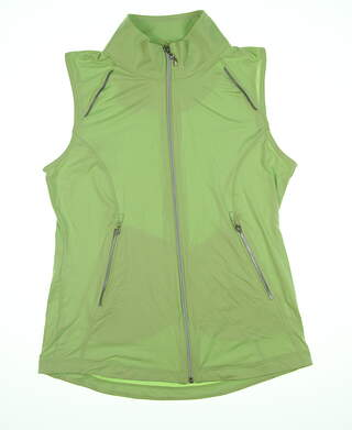 New Womens Sport Haley Vest Small S Green WD041014 MSRP $89.99