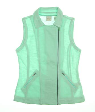 New Womens EP Pro Paradise Found Vest Small S Cool Mint 6630KC MSRP $85