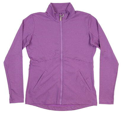 New Womens BETTE & COURT Golf Jacket Small S Purple MSRP $100 BB042009