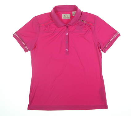 New EP Pro Golf Polo Small Pink MSRP $68