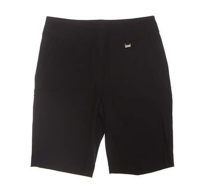 New Womens EP Pro Golf Shorts 8 Black MSRP $84