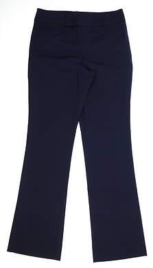 New Womens Fairway Fox Eve Pants Size 12 Navy Blue MSRP $130
