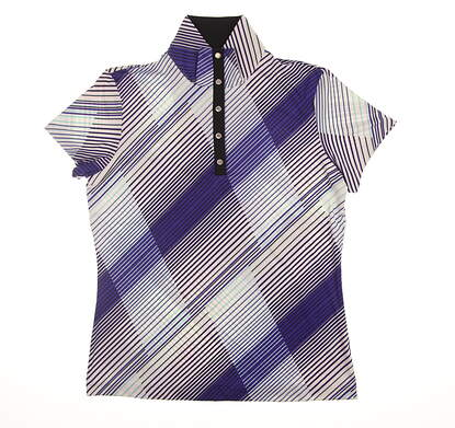 New Womens Tail Golf Polo Small S Multi GD1068-D563 MSRP $83