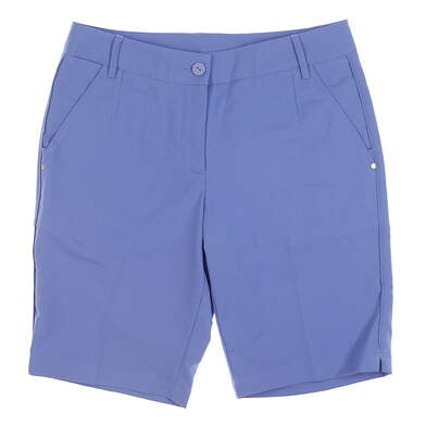 New Puma Womens Golf Shorts 8 Blue MSRP $65