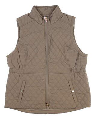 New Womens Fairway & Greene Brinley Quilted Vest X-Large XL Bleeker MSRP $225 I12120