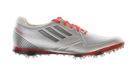 New Womens Golf Shoe Adidas Adizero Tour Medium 8 Silver MSRP $130