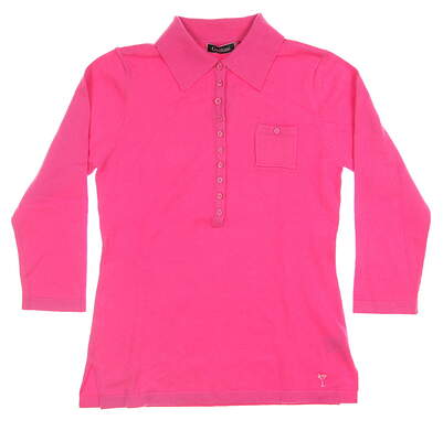 New Womens Golftini Golf Long Sleeve Medium M Pink MSRP $90