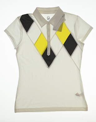 New Womens EP Pro Golf Polo Small S Multi MSRP $76 4235SBB