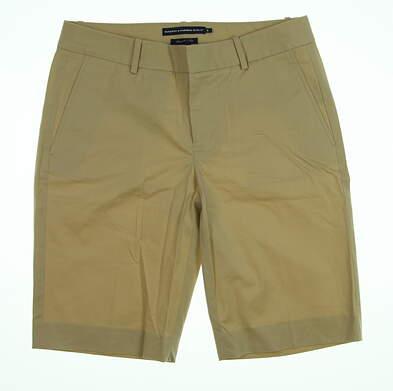 New Womens Ralph Lauren Golf Shorts Size 6 Khaki MSRP $85 5862639