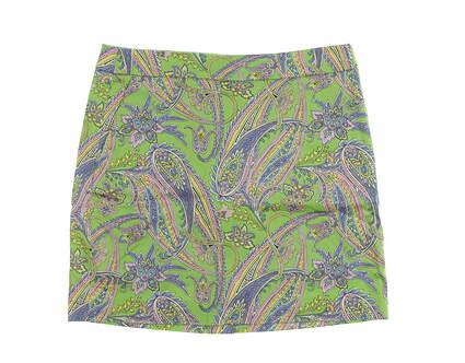 New Womens Ralph Lauren Paisley Print Golf Skort Size 2 Multi MSRP $145 3865829