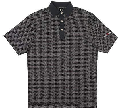 New W/ Logo Mens Footjoy Golf Polo Small S Gray MSRP $85