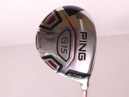 Ping G15 Draw Fairway Wood 5 Wood 5W 18.5* Ping TFC 149F Graphite Ladies Right Handed 41.75 in