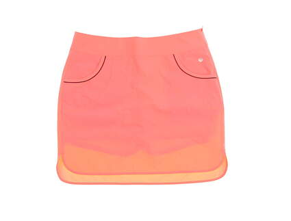 New Womens EP Pro Empire State Skort Size 6 Action Orange MSRP $98 3101SBA