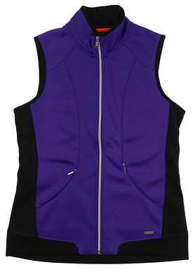 New Womens SUNICE Golf Vest Medium M Purple MSRP $89 S64500