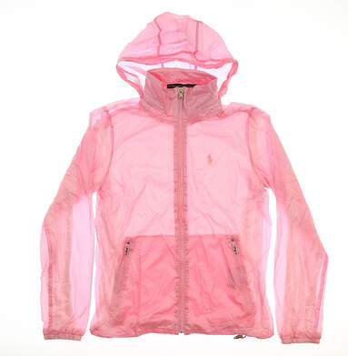 New Womens Ralph Lauren Cypress Jacket Small S Pink MSRP $65