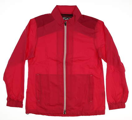 New Womens Sun Mountain Golf Jacket Medium M Pink MSRP $89