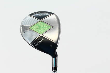 Callaway 2014 Solaire Fairway Wood 7 Wood 7W Callaway Gems 55w Graphite Ladies Right Handed 40.75 in