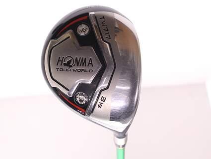 Honma Tour World TW717 Fairway Wood 3 Wood 3W 15* Stock Graphite Shaft Graphite Regular Right Handed 43 in