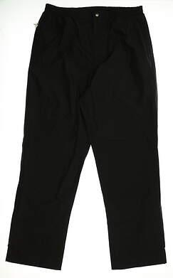 New Mens Sun Mountain Rain Pants Size Large L Black MSRP $149